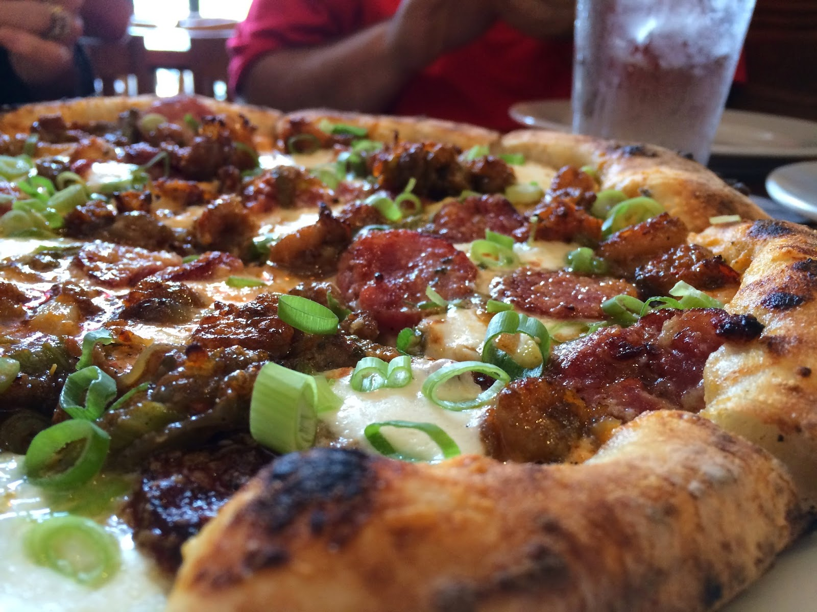 The Crawfish Lagniappe Pizza