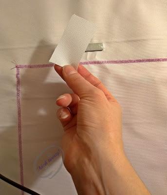 Jak wszyć zapięcie magnetyczne do plecaka