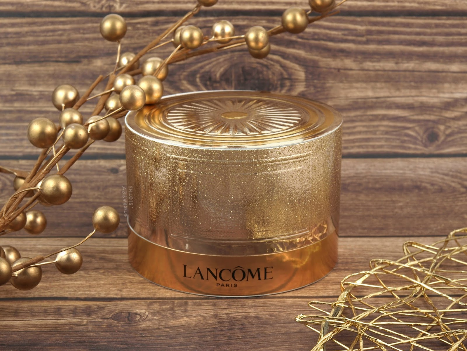 Lancome   Holiday 2018 La Rose À Poudrer Starlight Sparkle Iridescent Gold Highlighter: Review and Swatches