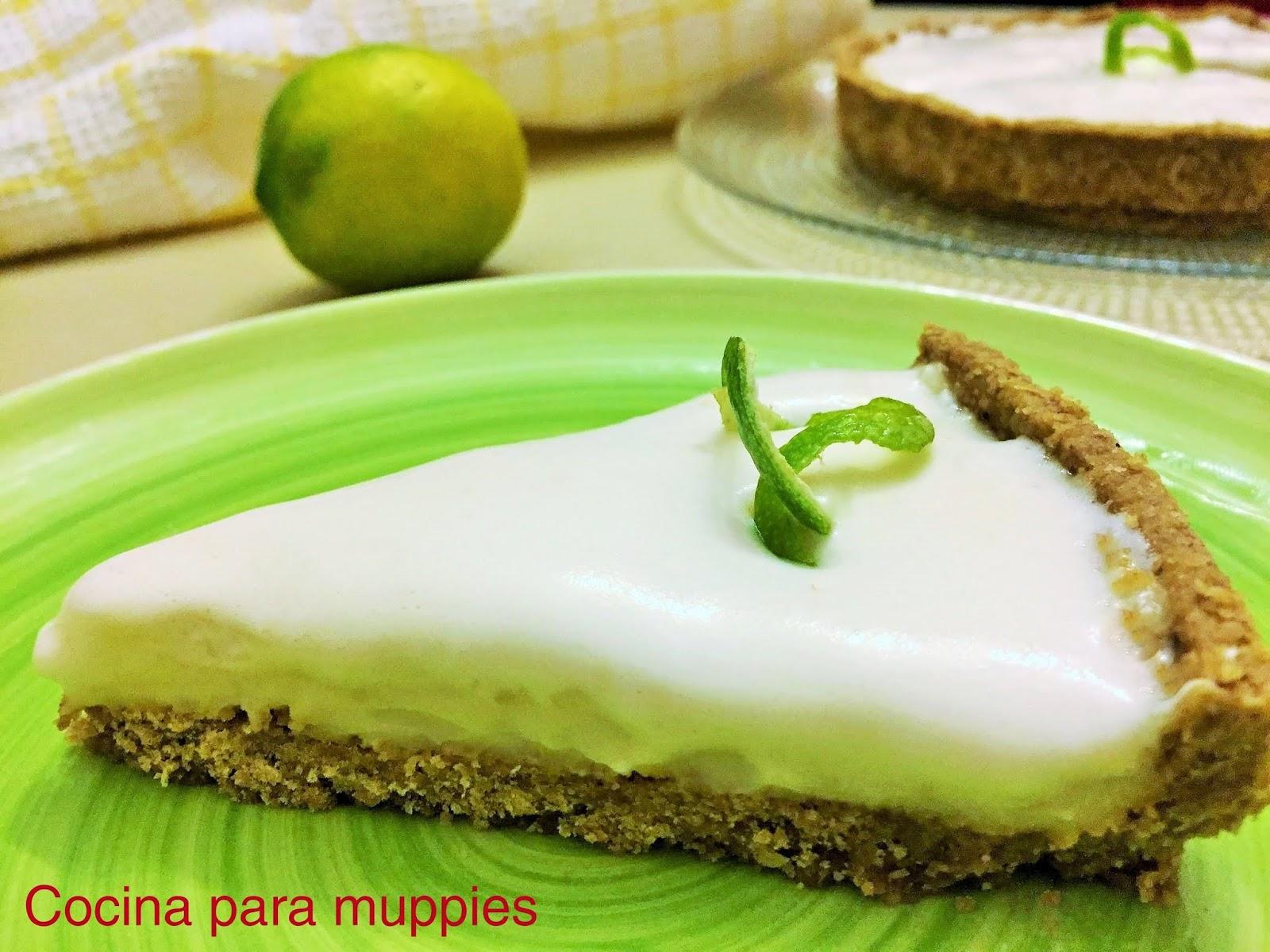 Cocina Para Muppies Tarta De Limon Vegana Con Merengue De Garbanzos