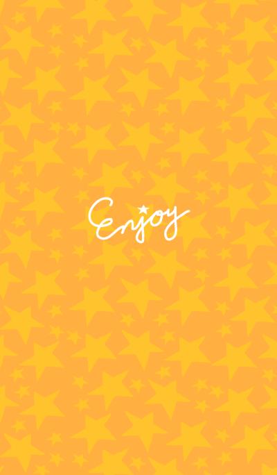 Enjoy-Orange x star -