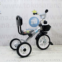 PMB 919-S Chrome Pernekel Sandaran Keranjang BMX Tricycle
