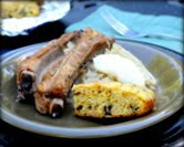 Ribs & Sauerkraut for Slow Cooker or Dutch Oven