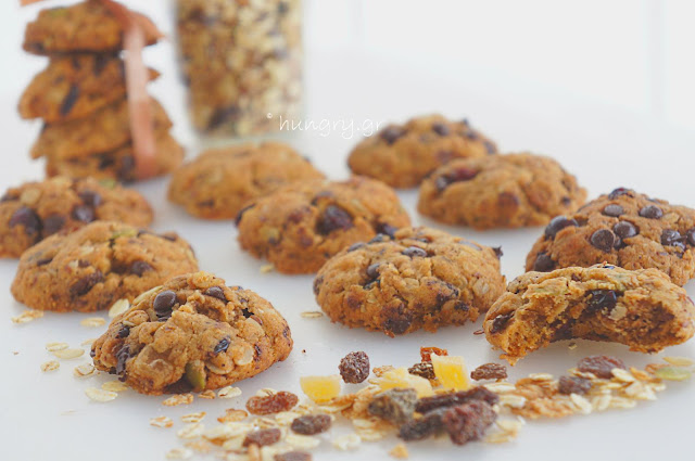 Maple Muesli Biscuits