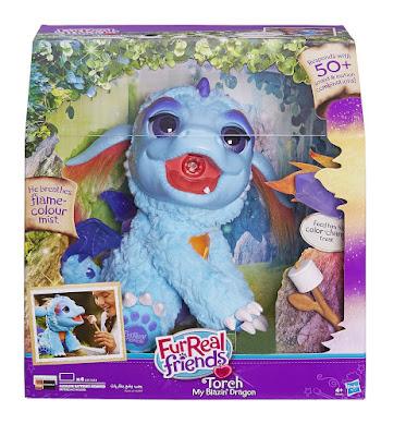 TOYS : JUGUETES - Furreal Friends - Torch : Dragon  Mascota Electrónica Interactiva   Producto Oficial 2016 | Hasbro B5142 | A partir de 4 años  Comprar en Amazon España & buy Amazon USA