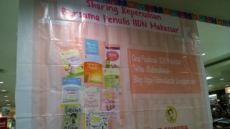 SESI PAMUNGKAS SHARING KEPENULISAN Bersama Penulis IIDN Makassar
