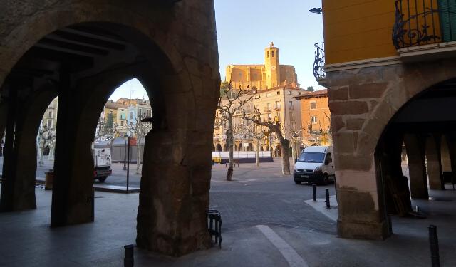 Racó de la plaça del Mercadal