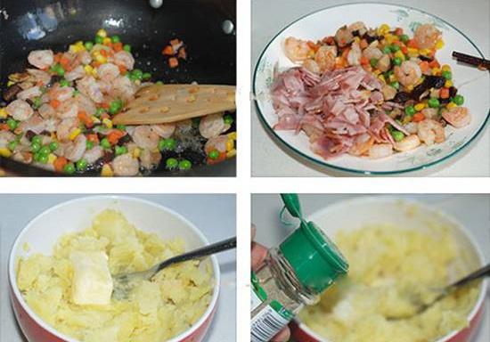Cách làm Bánh dẻo nhân mặn cho Tết Trung thu