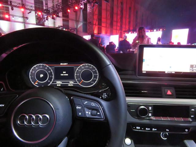 Audi A5 Sportback 2018 - interior