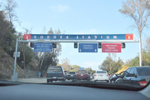 Dodger parking gate E