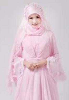 Contoh Baju Pengantin Muslim
