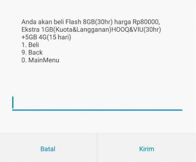 Baru, Cara Daftar Paket Flash Telkomsel Murah 2019 8GB 80 Ribu