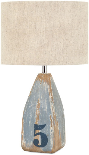 Wood Buoy Lamp