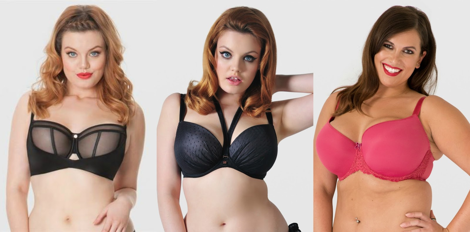 fashion shopping plus size curvy lingerie