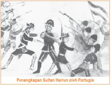 Perlawanan Ternate Terhadap Portugis - Penangkapan Sultan Hairun