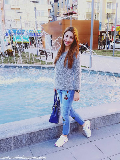 peluş kazak