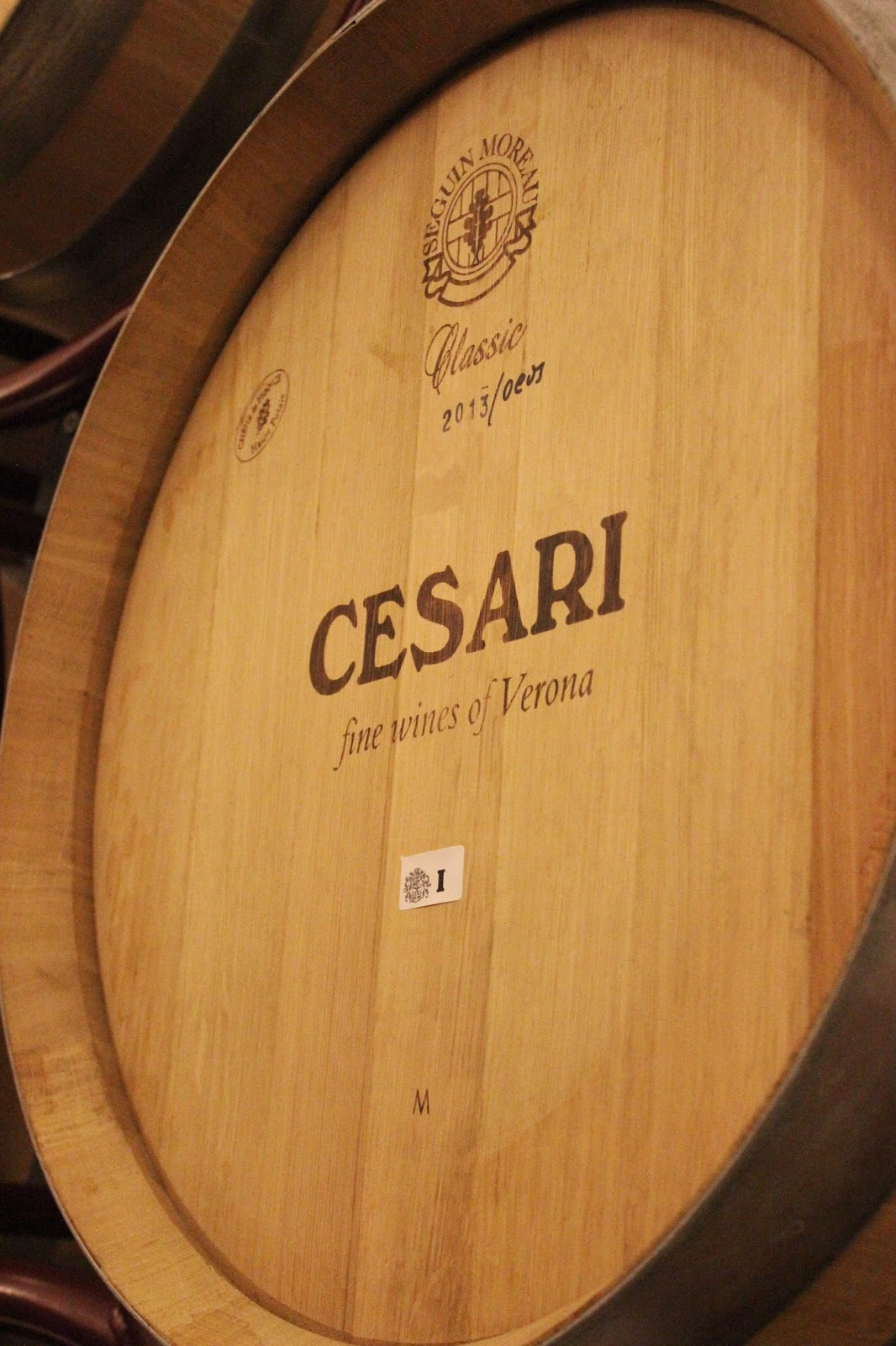 Cesari wines of the Valpolicella