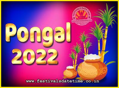 2022 Pongal Festival Date & Time, 2022 Thai Pongal Calendar