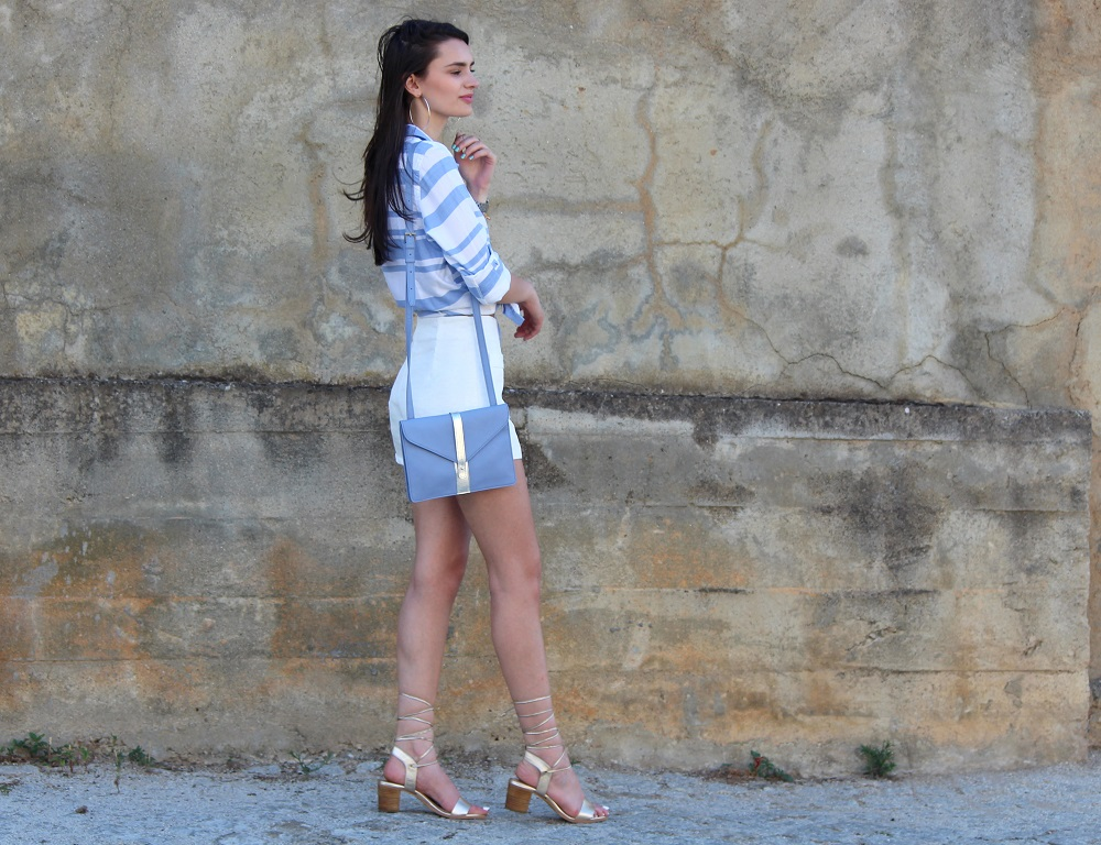 peexo fashion blogger dizen style challenge nautical