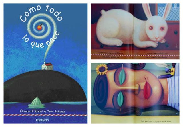 Libro infantil para tratar la muerte como aprte de la vida: Como todo lo que nace