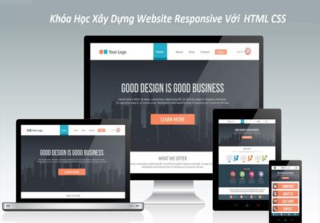 Chia Sẻ Khóa Học Xây Dựng Website Responsive Với HTML5 CSS3