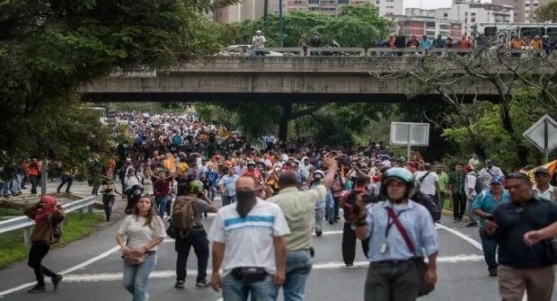 Αναταραχές και πείνα επικρατούν στην κομουνιστική  αριστερή Βενεζουέλα!
