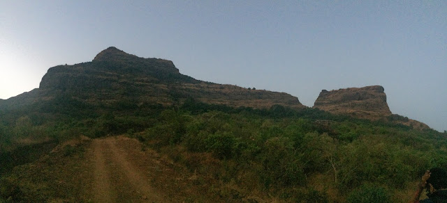 Ghangad Fort road
