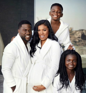 Kevin Hart and his wife, Eniko welcome their son, Kenzo...see his reaction on twitter!