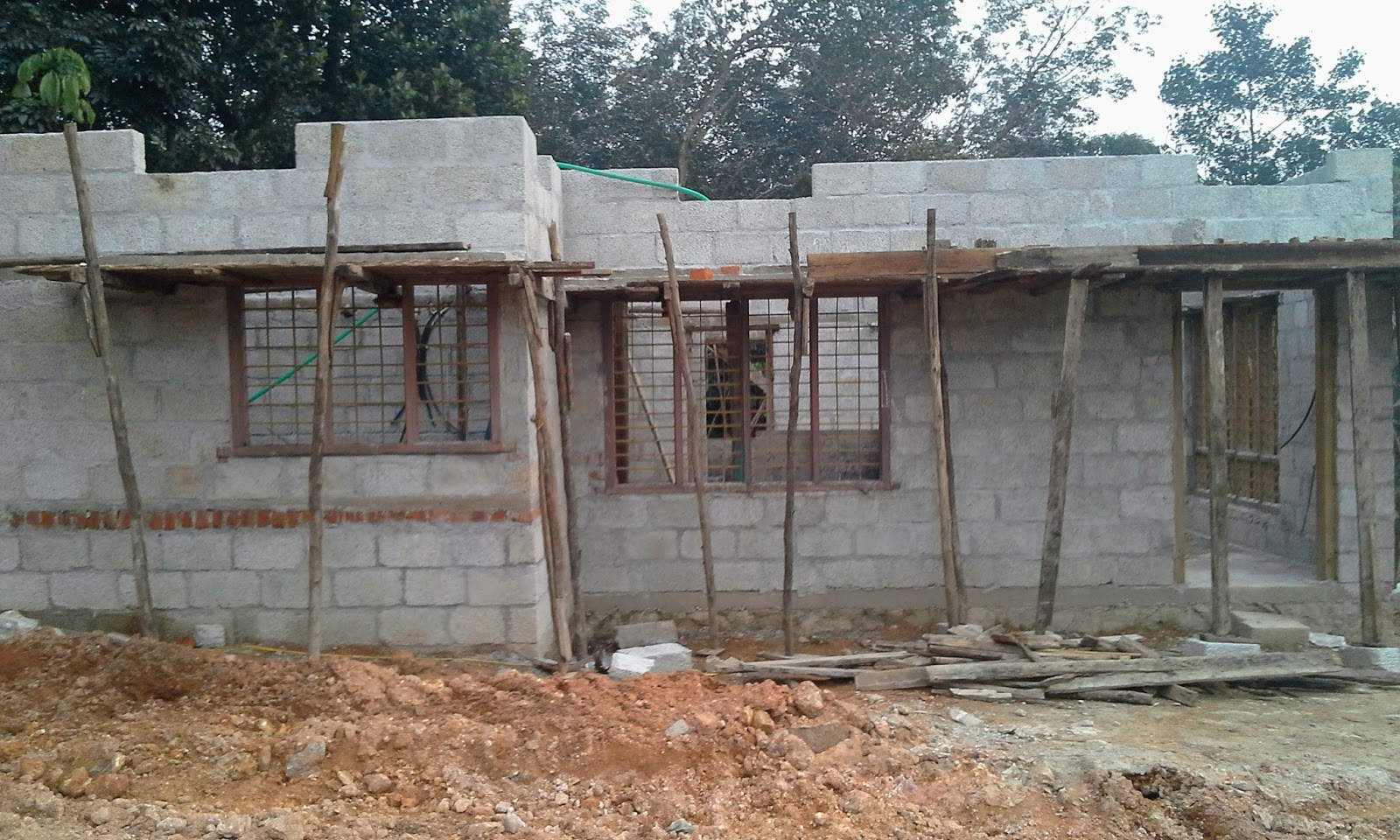 Kerala House Construction Tips 6 Wall Above Lintel