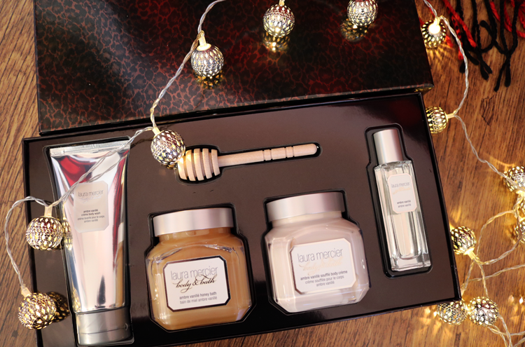 Laura Mercier Ambre Vanille Sweet Temptations Set