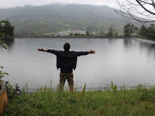 Embung Kledung, Kolam Super Manis di Lereng Gunung Sindoro