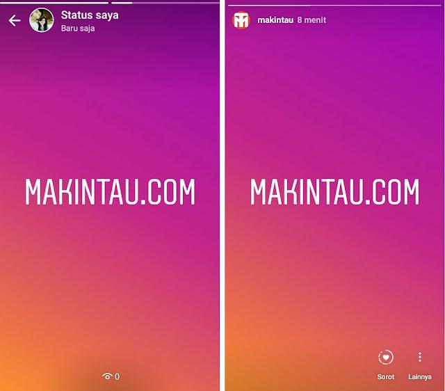 Cara Membuat Stories Whatsapp dan Instagram yang Sama