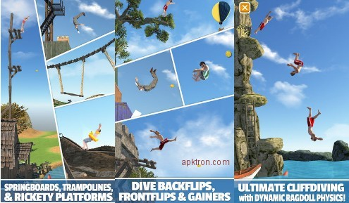 Flip Diving MOD APK 2 8 8 (Unlimited coins, Unlocked