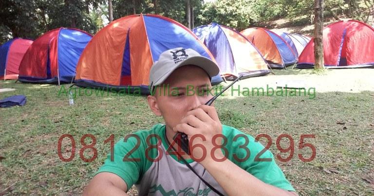 Tempat Camping Keluarga kawasan Sentul