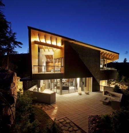 decorar Design Moderno Para Casas na Montanha