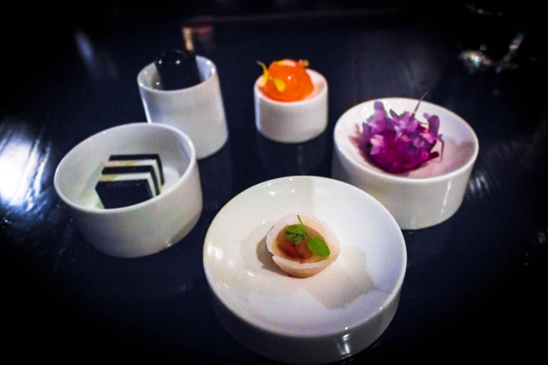 sepia saikou salmon bonito sweet shrimp nori tuna eggplant tofu