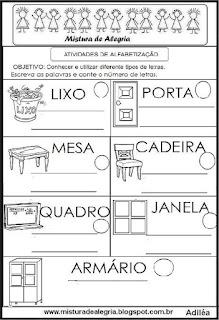 Desenho objetos escolares