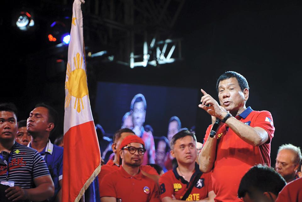 Rodrigo Duterte message grand rally
