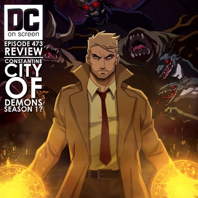 John Constantine faces off against several demonic beings