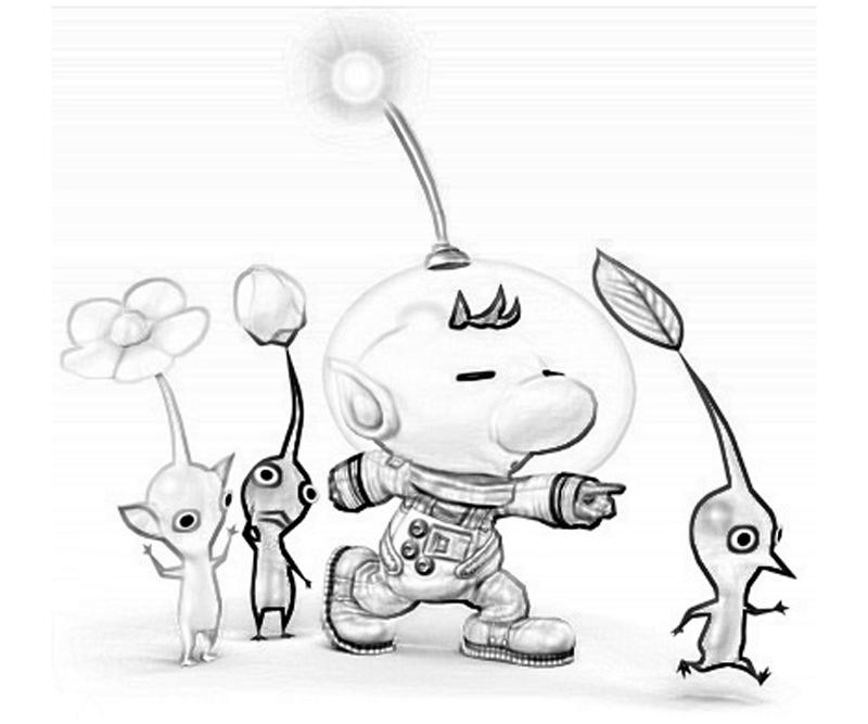 pikmin bulborb coloring pages - photo#7