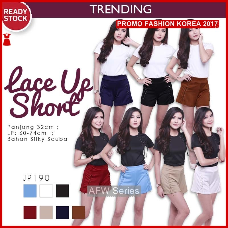 BAMFGW130 Lace Shorts Celana Wanita PROMO BMG
