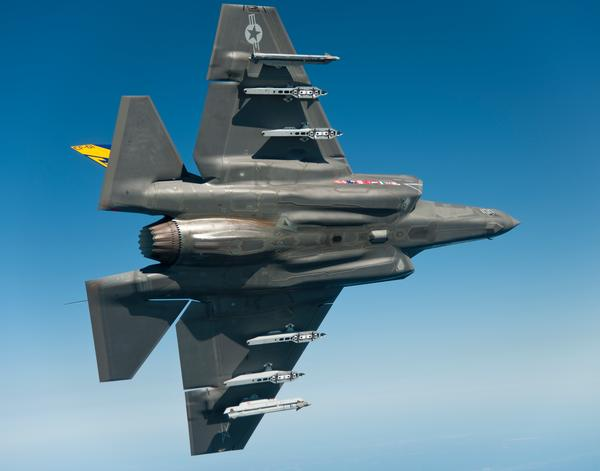 F-35C (US Navy Photo)