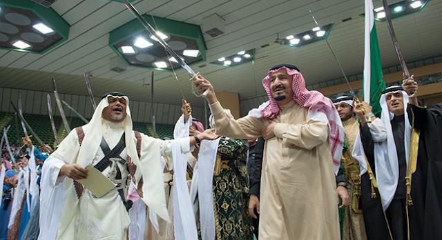 متابعة حفل العرضة السعودية مباشر برعاية خادم الحرمين.