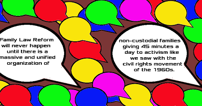 """We have a Civil Right to be presumed """"FIT AND EQUAL"""" Parents to our Children"""