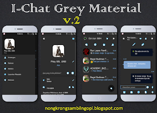 I-CHAT MATERIAL GREY V.2 V.2.9.0.49 APK