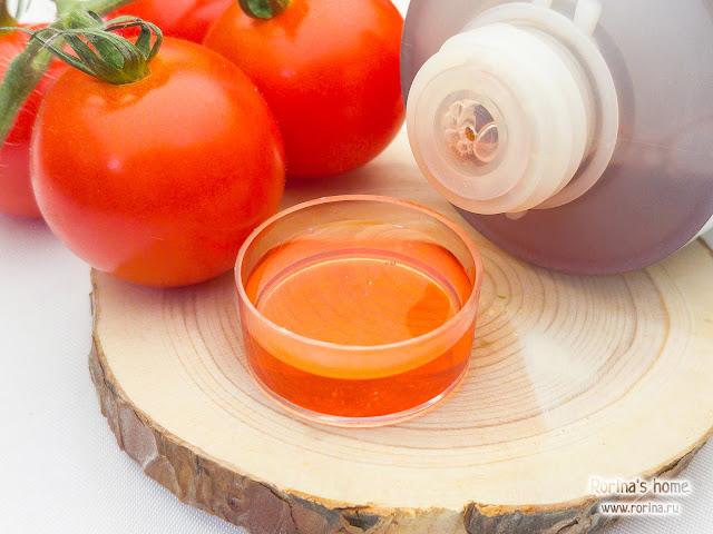 Шампунь с экстрактом помидора
