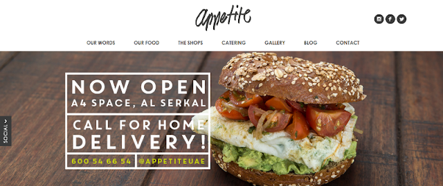 leading catering and food shop in Dubai