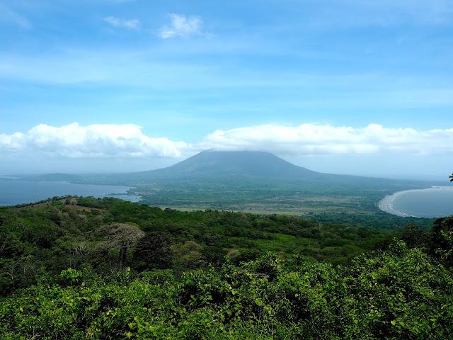 View of Concepcion Volcano on Ometepe Island, Nicaragua