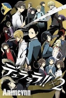 Durarara SS2 - Durarara!!x2 Shou 2015 Poster