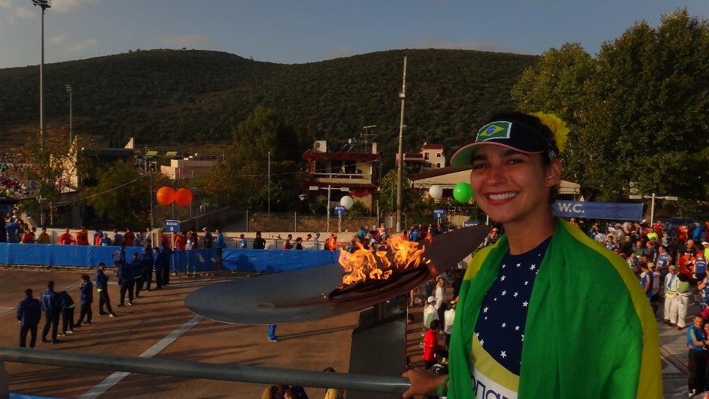 Maratona de Atenas Fogo Simbólico!